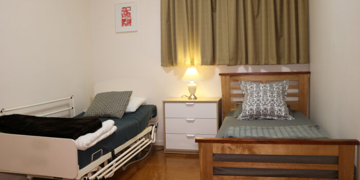 accessible friendly bedroom at tootgarook holiday house